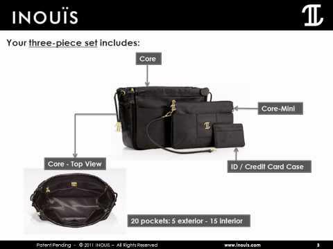 Inouis Core - The Luxury Handbag Organizer