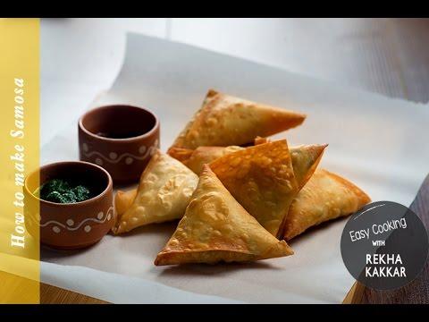 Samosa recipe - Patti samosa - Indian samosa recipe