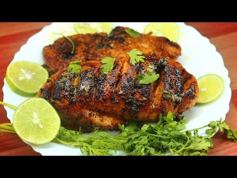 Grilled Chicken Breast  | Pan Roasted Chicken Breast | without oven | Tasty | fried chicken breast