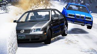 Will these Cars still Drive after Crashing? #95 - BeamNG Drive   CRASHdriven