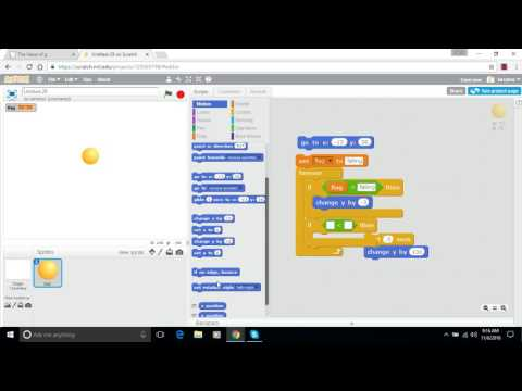 Make a Bouncing Ball in Scratch - Episode 1