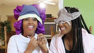 TOUCH MY BODY CHALLENGE / KLAIYI HAIR GIVEAWAY