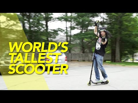 Worlds Tallest Scooter