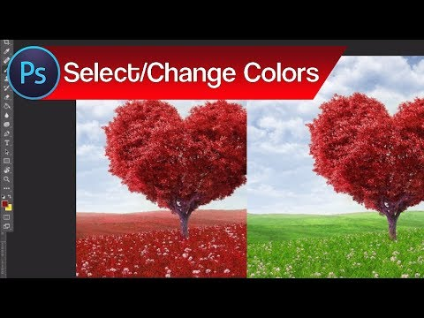 How to Select and Change Colors in Photoshop – Change Color of Objects | Adobe Photoshop Tutorial