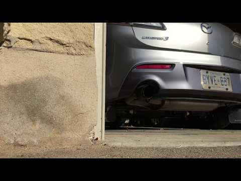 Mazdaspeed 3 Resonator Delete vs Stock Exhaust