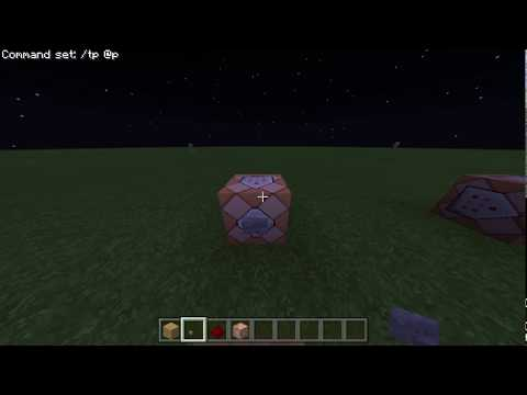 Minecraft PE & Windows 10 how to Teleport Using Command Blocks