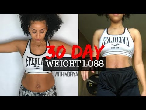 30 DAY WEIGHT LOSS RESULTS| Before & After footage