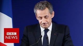 France Sarkozy: Ex-president exits after defeat - BBC News