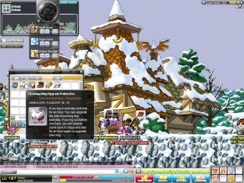 Maplestory - How to get Evolving Ring (2013)