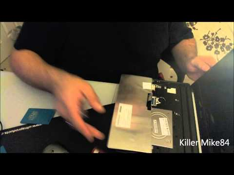 Acer Aspire One D255-2331 Tutorial how to Remove Hard Drive Repost
