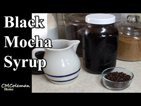Black Mocha Syrup