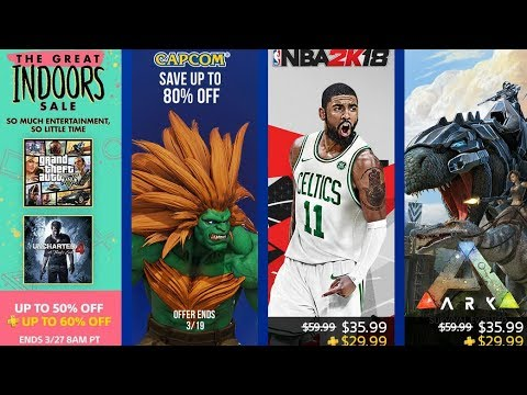 PS4 DISCOUNTS - THE GREAT INDOORS SALE