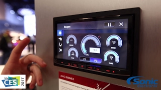Pioneer AVIC-8201NEX Car Stereo & Backup Camera | CES 2017