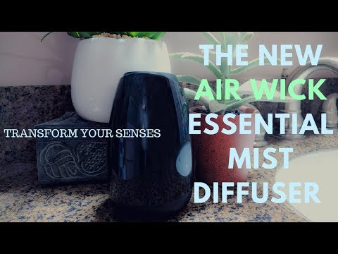 UNBOXING The NEW Air Wick Essential Mist Diffuser - Transform The Mood Of Your Home