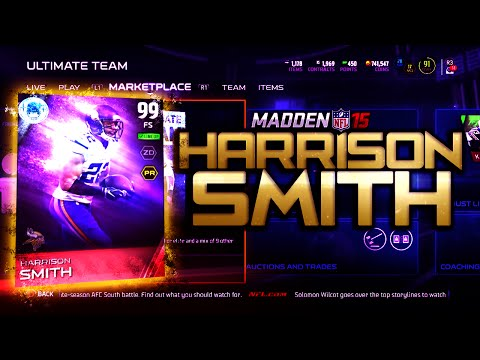 Madden NFL 15 Ultimate Team - NEW POSITIONAL HEROES! Stud Harrison Smith Set Complete! - MUT 15