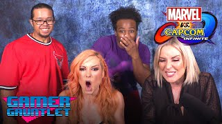 BECKY LYNCH vs. RENEE YOUNG: Marvel vs. Capcom: Infinite Challenge! - Gamer Gauntlet