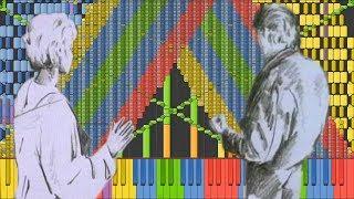 Black MIDI] Synthesia – TheFatRat - Monody 317,000 notes