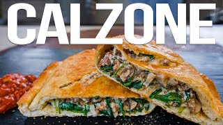 Download The Best Calzone (Pizza Pocket) Recipe   SAM THE COOKING GUY 4K Video