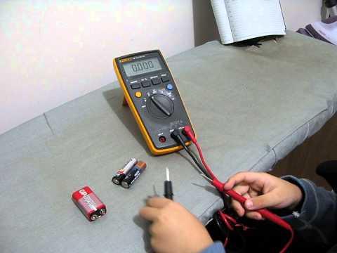 How to Test Battery Level using Multimeter