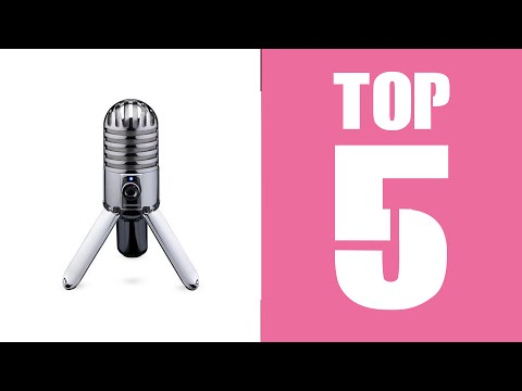 Top 5 BEST Budget Microphones For YouTube 2016!