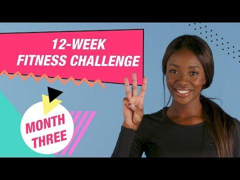 12 Week Fitness Challenge | MONTH 3 | HIIT Workout | Superdrug
