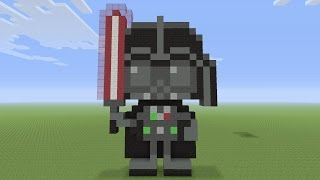 Minecraft Pixel Art Baby Jack Jack From The Incredibles