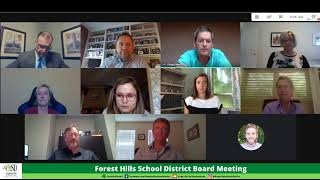 Forest Hills School District - Board Meeting 7/10/20