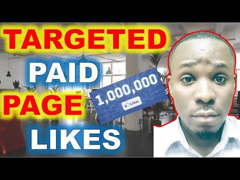 How to Grow Facebook Page From 0 With Targeted PAID Likes!