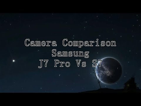 Samsung Galaxy J7 Pro VS S7 Camera Comparison (indoor | outdoor | video stabilization)