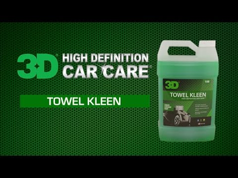 How to clean microfiber towels and shop rags with Towel Kleen