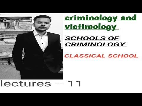 criminology penology and victimology class in hindi (school of criminology) ipc basics