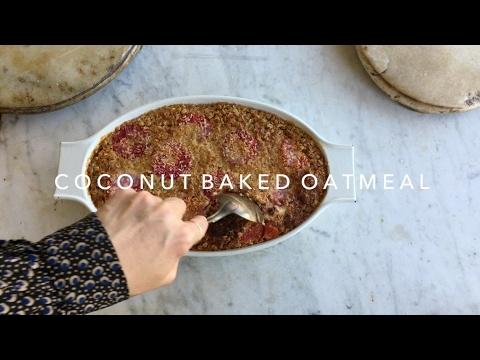 Coconut Baked Oatmeal (GLUTEN FREE)
