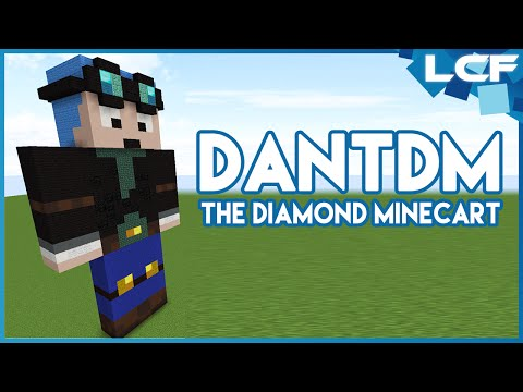 How to make a DanTDM Statue! [Minecraft Tutorial]