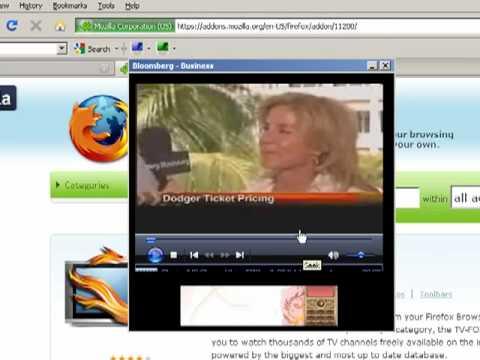 TV Addon for Firefox