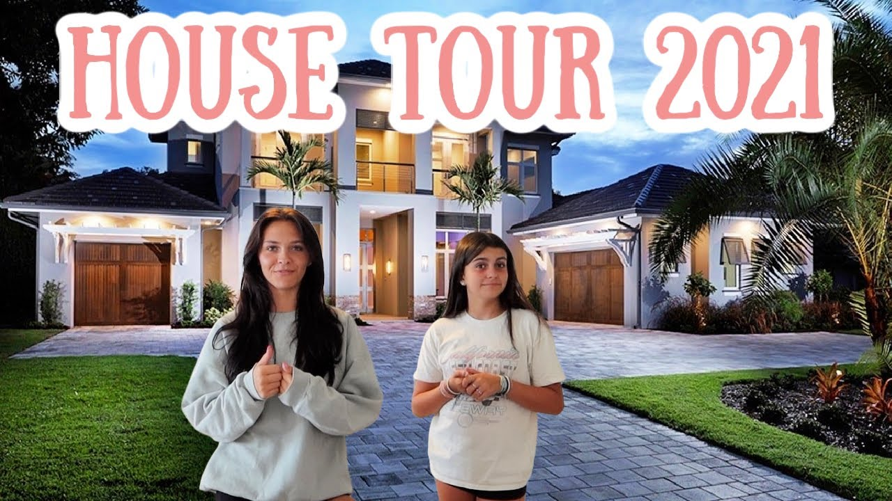 OUR COMPLETED HOUSE TOUR 2021! EMMA AND ELLIE