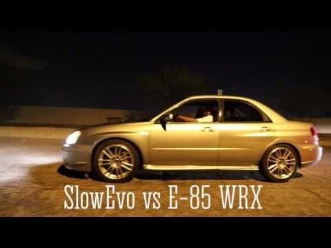 #SlowEvo Battles Subaru's and Evo's in Mexico