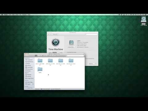 How to backup your mac with Time Machine