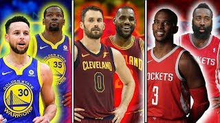 Ranking The Best DUOS From ALL 30 NBA Teams 2017-18