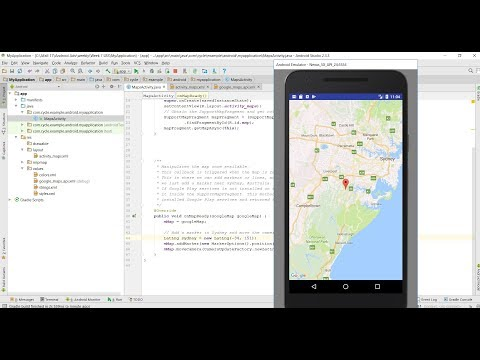 Google Map Tutorial : add Map to Android app