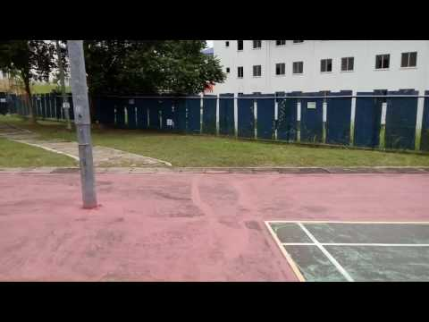 MMU Outdoor badminton court