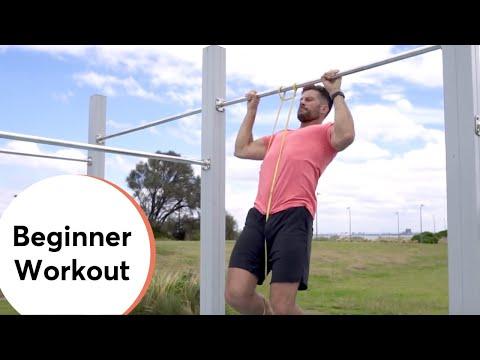 #SAM 7  Outdoor Gym (Beginner Workout)