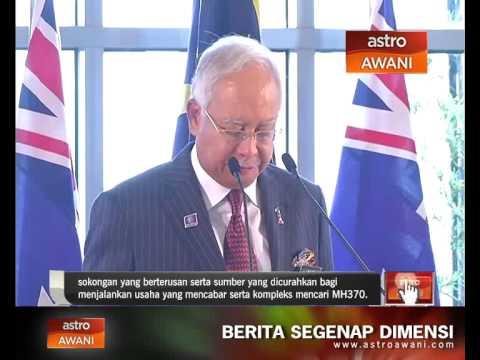 Malaysia dan Australia komited teruskan pencarian MH370