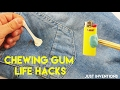 5 AMAZING CHEWING GUM LIFE HACKS