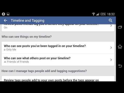How to stop friend's tagging on Facebook | របៀបបិទកុំឲ្យមិត្តក្នុង Facebook អាច Tag អ្នកបាន