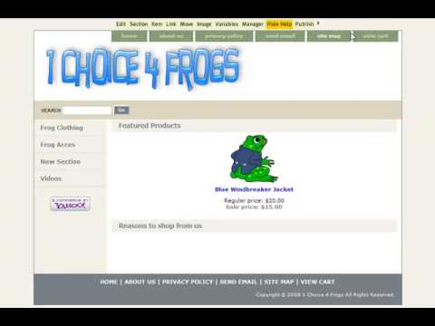 Customize Your Yahoo Store Part 1