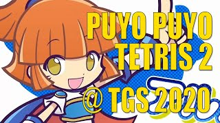 Puyo Puyo Tetris 2 - 14 minutes of puzzle gameplay | Tokyo Game Show 2020