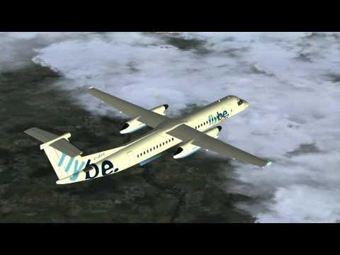 flybe. ⎮ London City - Isle of Man [FS2004]
