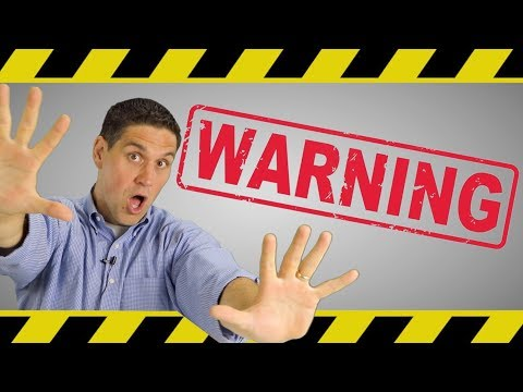 WARNING!- Watch this 60 second video before you continue