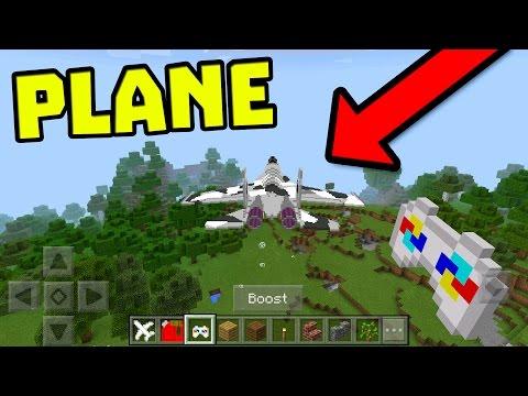 REMOTE CONTROL PLANE in Minecraft Pocket Edition