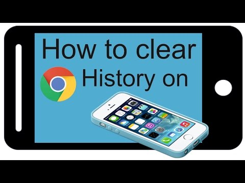 How to clear google chrome app history on iphone |How To Delete chrome  Search History